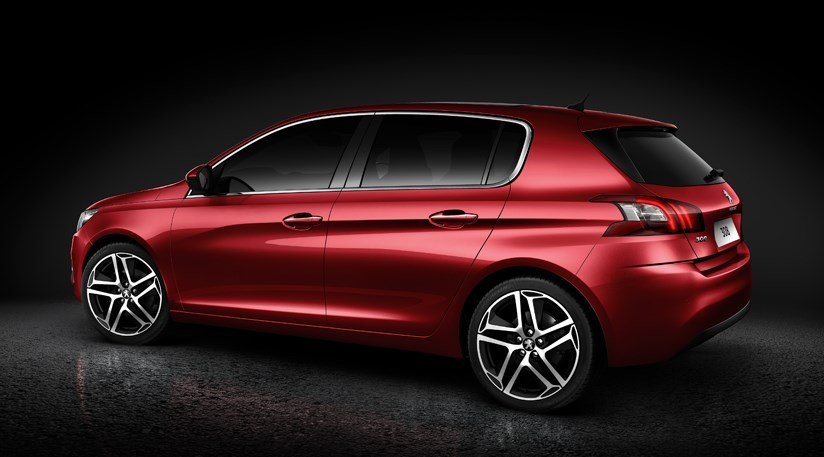 Peugeot 308 (2014) first pictures of Peugeot\'s new Focus-fighter ...