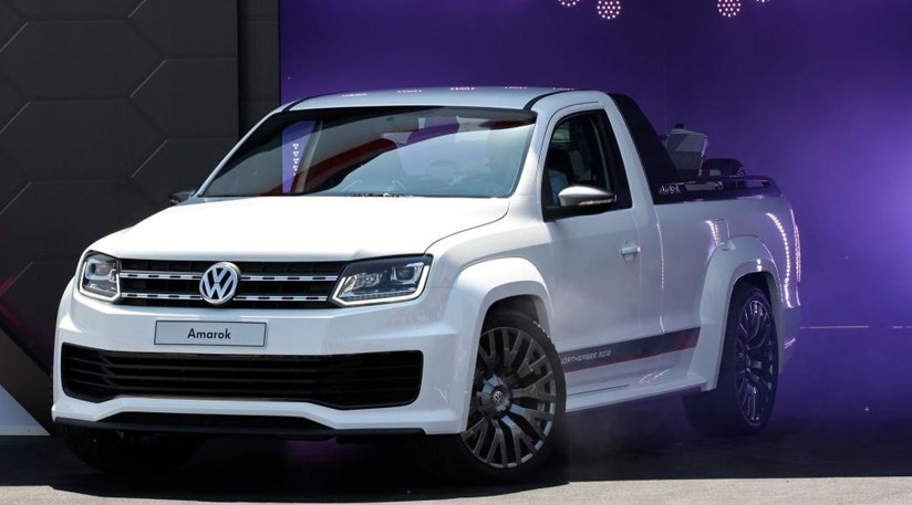 Vw Amarok Power Pick Up 2013 First Pictures Of Super