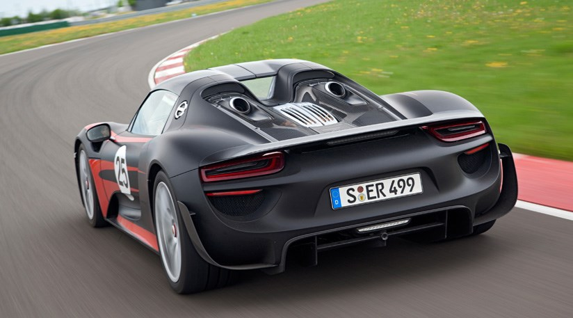 porsche 918 spyder 2013 final specifications and prices by car magazine. Black Bedroom Furniture Sets. Home Design Ideas