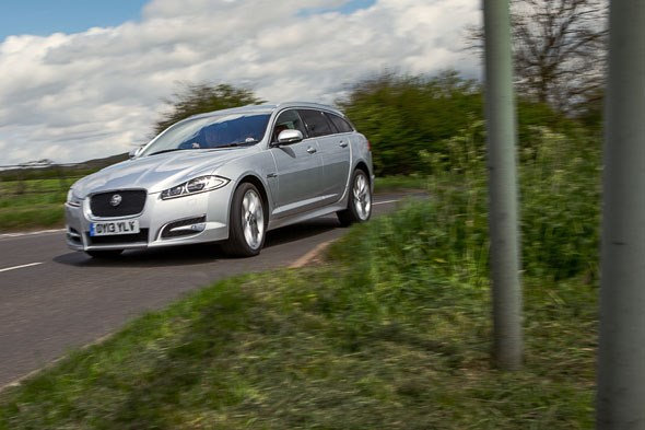 CAR magazine's Jaguar XF Sportbrake: the Diesel S