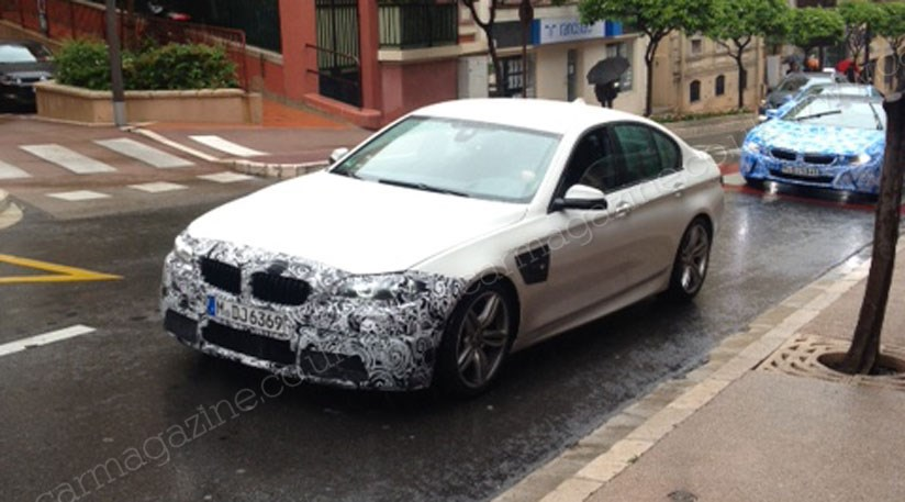 bmw i8 and new m5 spied by car reader in monaco by car. Black Bedroom Furniture Sets. Home Design Ideas