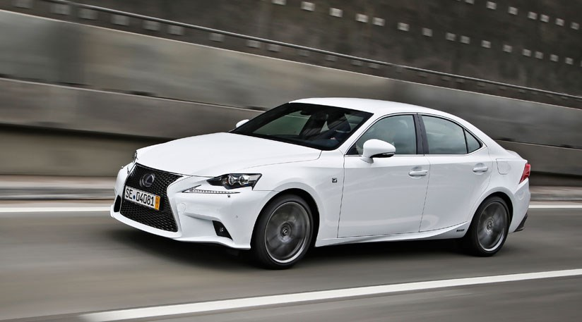Lexus IS 300h F-sport (2013) review by CAR Magazine