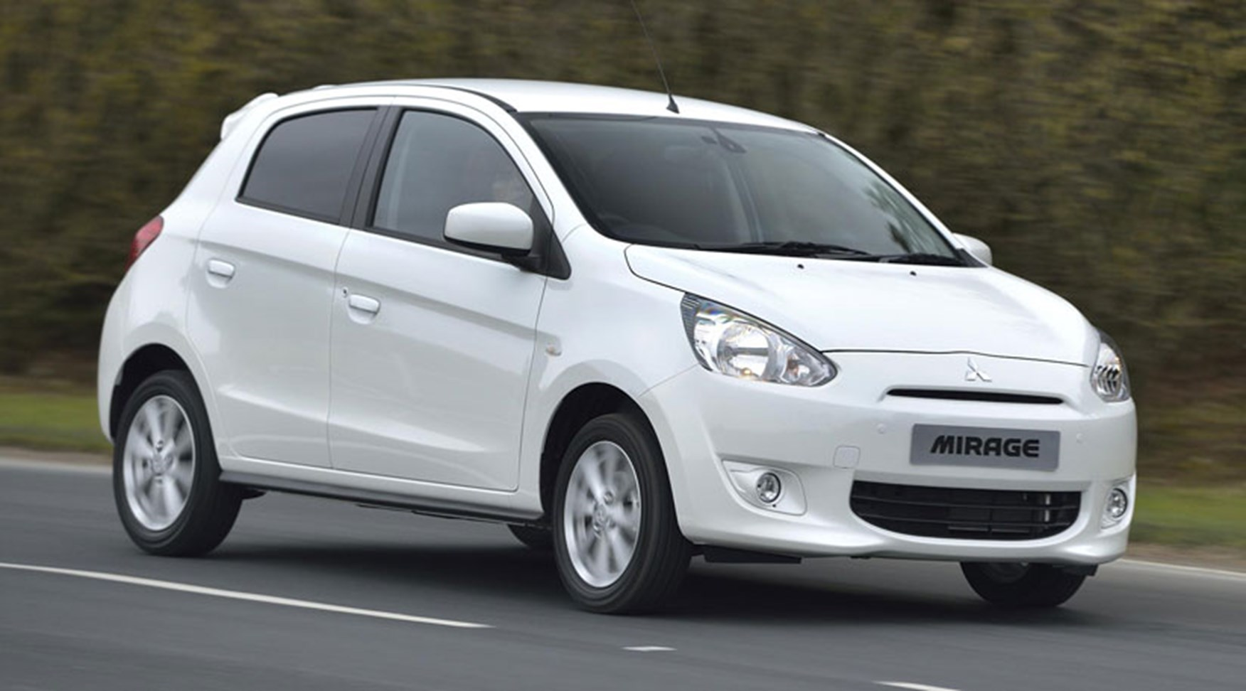 Mitsubishi Mirage 1.2 (2013) review by CAR Magazine