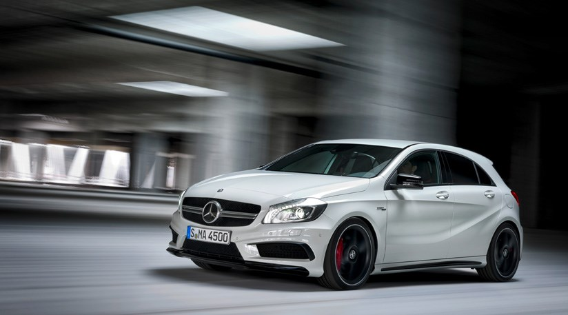 Mercedes A45 AMG 2013 review by CAR Magazine