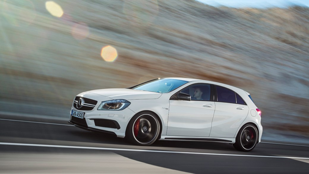 Mercedes A45 AMG (2013) Review