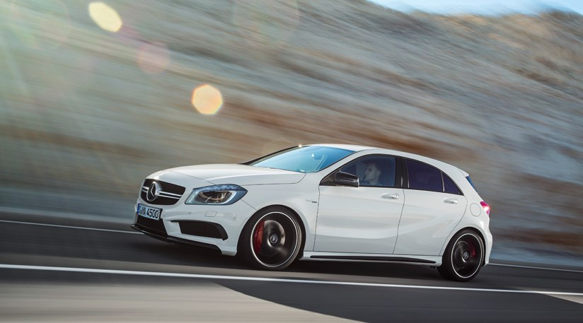 mercedes a45 amg 2013 review by car magazine. Black Bedroom Furniture Sets. Home Design Ideas