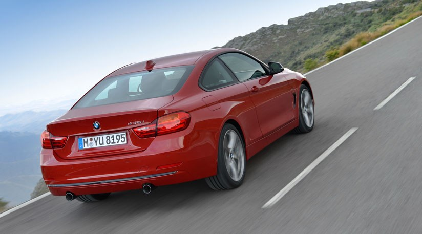 bmw 4 series coupe 2013 first official pictures car magazine. Black Bedroom Furniture Sets. Home Design Ideas