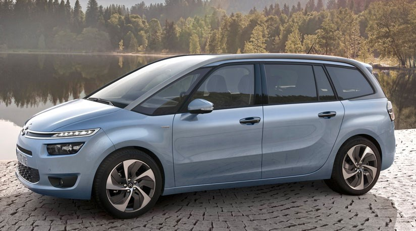 citroen c4 grand picasso 2013 first official pictures by car magazine. Black Bedroom Furniture Sets. Home Design Ideas