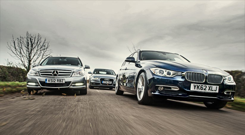 Bmw 3 Series Touring Vs Audi A4 Avant Vs Mercedes C Class Estate
