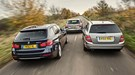 BMW 3-series Touring vs Audi A4 Avant vs Mercedes C-class Estate (2013)