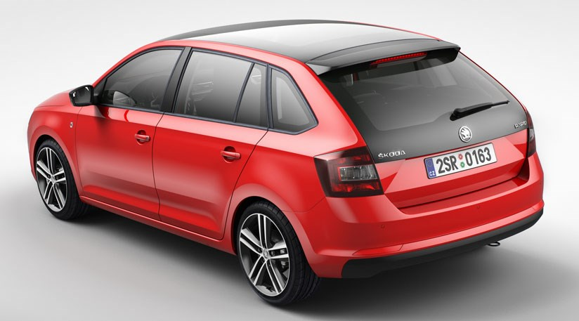 Skoda Rapid Spaceback 2013 At Frankfurt Motor Show By