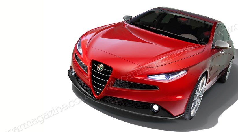 alfa romeo new car releasesAlfa Romeo to dump frontdrive hatches for reardrive saloons by