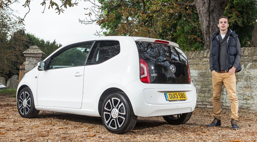 Car Scribe Ollie Kew And His Vw Up