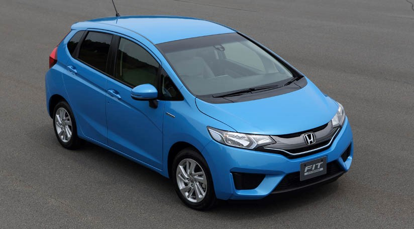 honda jazz hybrid 2013 first official pictures by car magazine. Black Bedroom Furniture Sets. Home Design Ideas