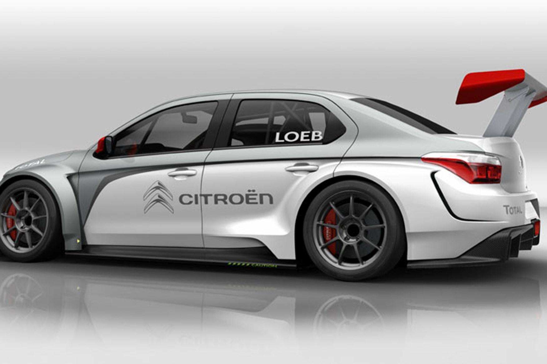 Citroën C-Elysée WTCC is Sebastien Loeb's New 380HP Ride