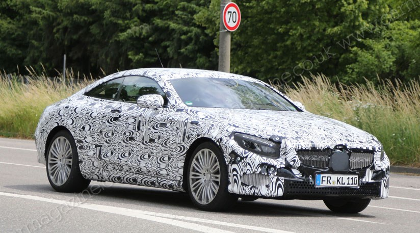 Mercedes S Cl Coupe 2017 Spy Shots Of The New Two Door