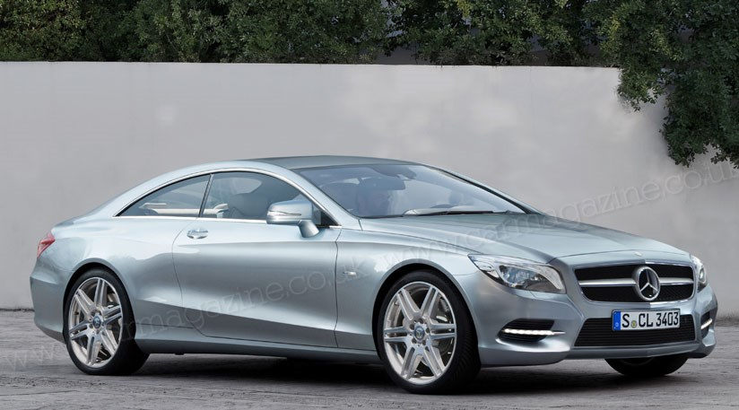 mercedes s class coupe 2013 spy shots of the new cl two door by car magazine