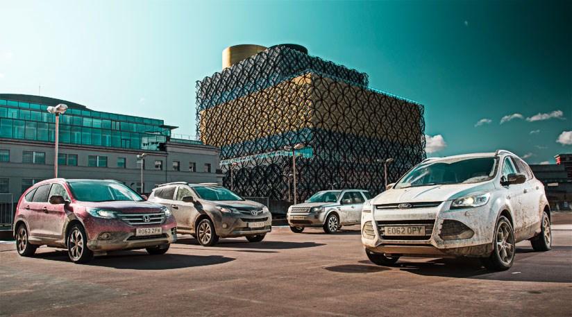 ... Honda CR V Vs Toyota RAV4 Vs Land Rover Freelander (2013 +16