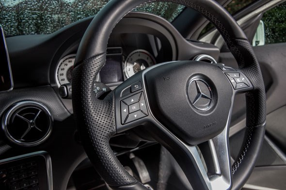 Cabin of Mercedes A-class: its strong suit?