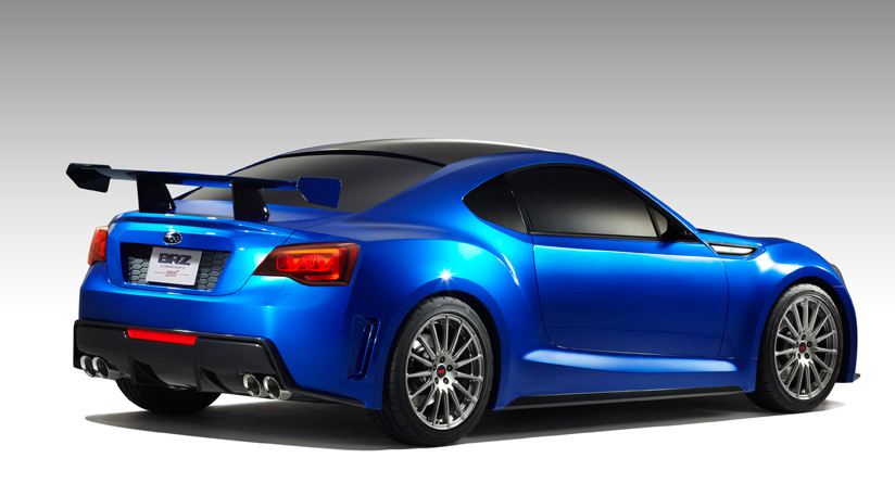 subaru brz sti 2013 range topping brz on the way by car magazine. Black Bedroom Furniture Sets. Home Design Ideas