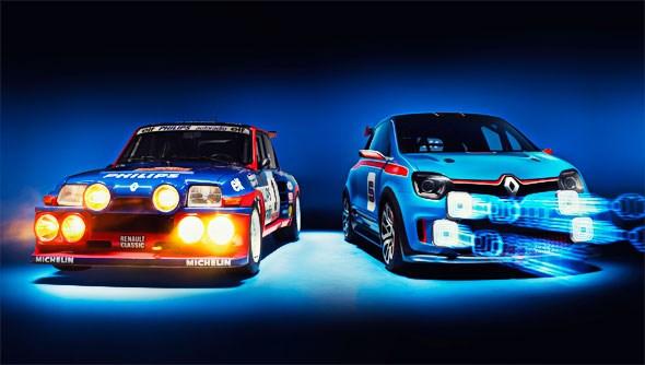 Renault TwinRun meets classic R5 Turbo (2013) | CAR Magazine