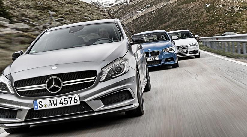 Mercedes A45 AMG vs Audi S3 vs BMW M135i: CAR Giant Test ...