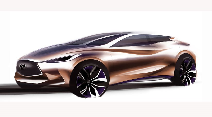 Infiniti Q30 Concept 2017 First Picture Of S 1 Series Rival