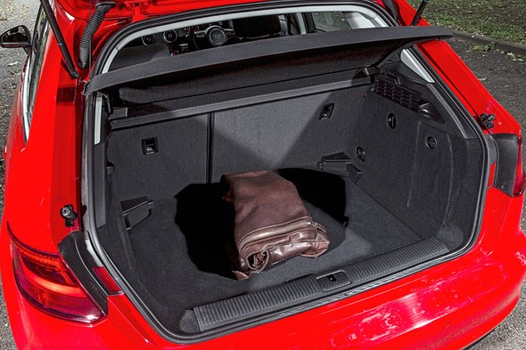 Boot space: an Audi A3 Sportback strong suit
