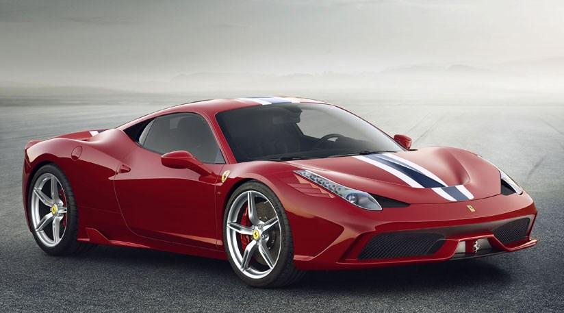 Ferrari 458 speciale production