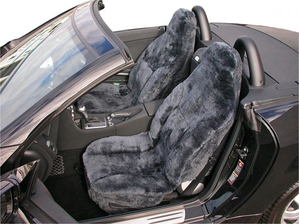 The car top 10 crimes against taste by car magazine for Motor sheep seat covers