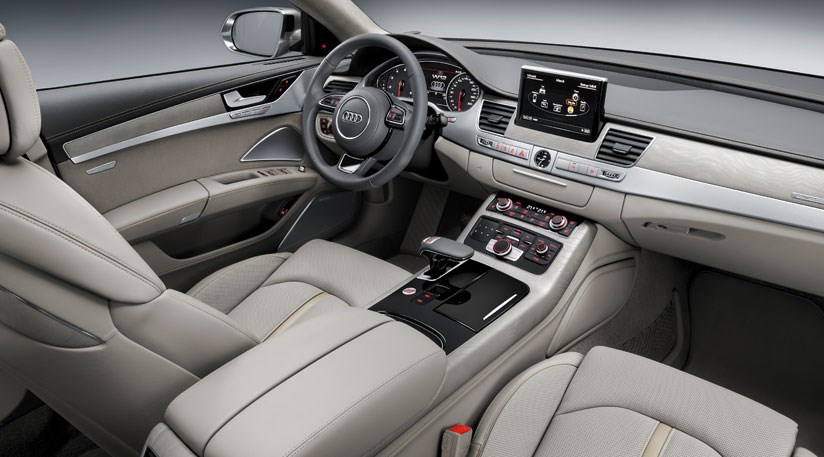 Audi A8 (2014) at Frankfurt motor show by CAR Magazine