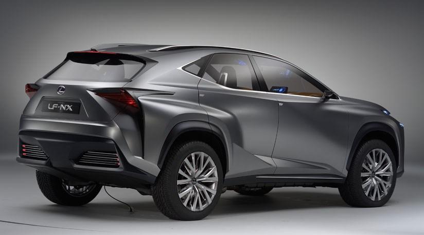 Lexus LF-NX concept (2013) at Frankfurt motor show   CAR Magazine