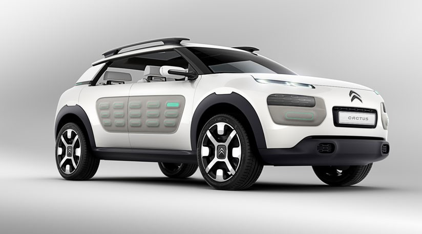 Citroen Cactus Concept 2013 First Pictures Of Frankfurt Crossover