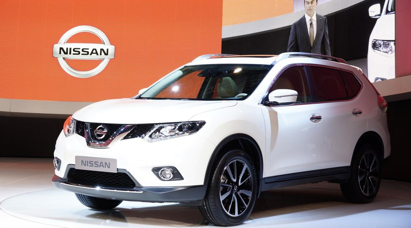 nissan x trail 2013 at frankfurt motor show by car magazine. Black Bedroom Furniture Sets. Home Design Ideas