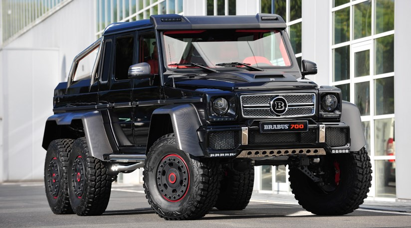 brabus b63s 700 6x6 2013 at frankfurt motor show by car magazine. Black Bedroom Furniture Sets. Home Design Ideas