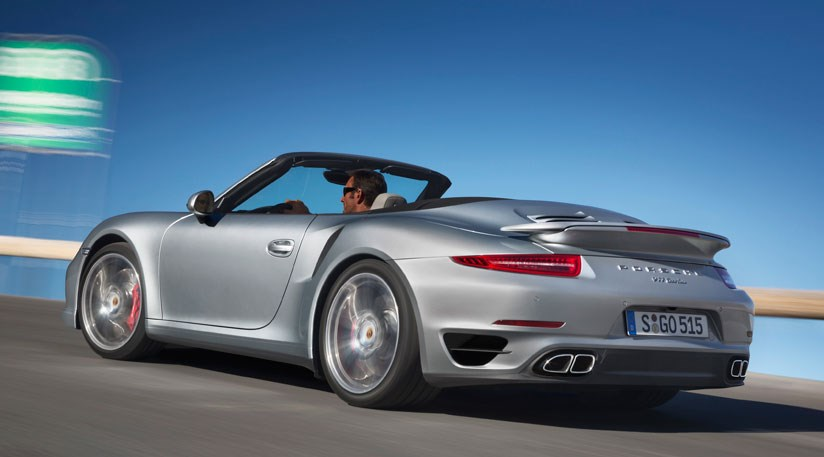 porsche 911 turbo cabriolet 2013 priced from 126 766 by car magazine. Black Bedroom Furniture Sets. Home Design Ideas