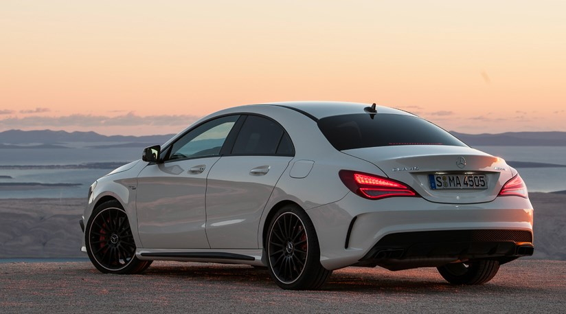 Mercedes cla45 amg 2013 review car magazine for Mercedes benz cla 500