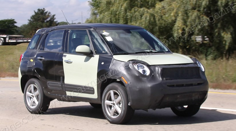 Jeep S Nissan Juke Spotted Dressed As A Fiat 2013 By Car Magazine