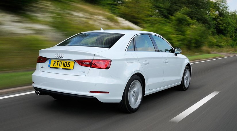 audi a3 saloon 2013 review by car magazine. Black Bedroom Furniture Sets. Home Design Ideas
