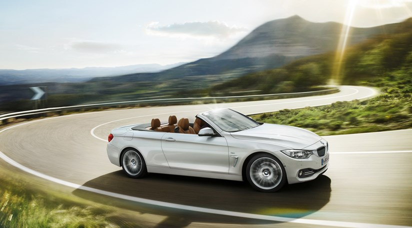 BMW Series Convertible First Official Pictures By CAR - 2013 bmw 4 series convertible
