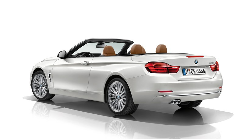 BMW 4 Series Convertible 2013 First Official Pictures By CAR Magazine