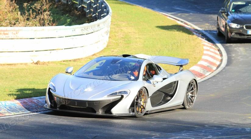 McLaren P1 returns to snatch Nurburgring lap record (2013