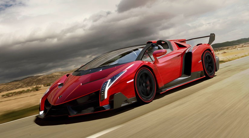 Lamborghini Veneno Roadster 2013 First Official Pictures Car