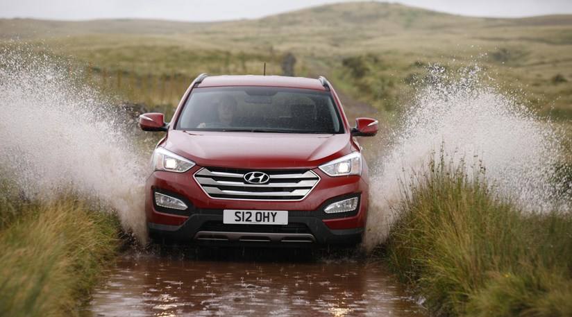 Beautiful Hyundai Santa Fe 2.2 CRDI (2013) Review ...