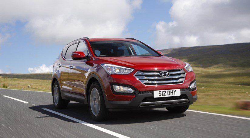 ... Hyundai Santa Fe 2.2 CRDI (2013) Review ...