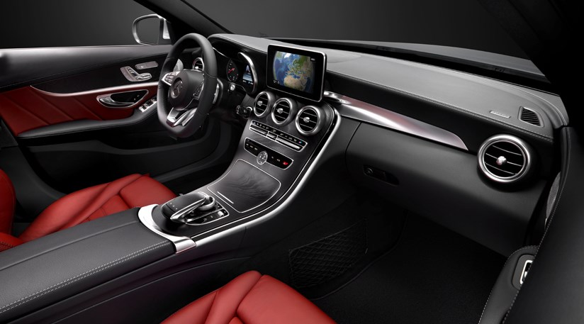 Mercedes C-class (2014) interior images and technology ...