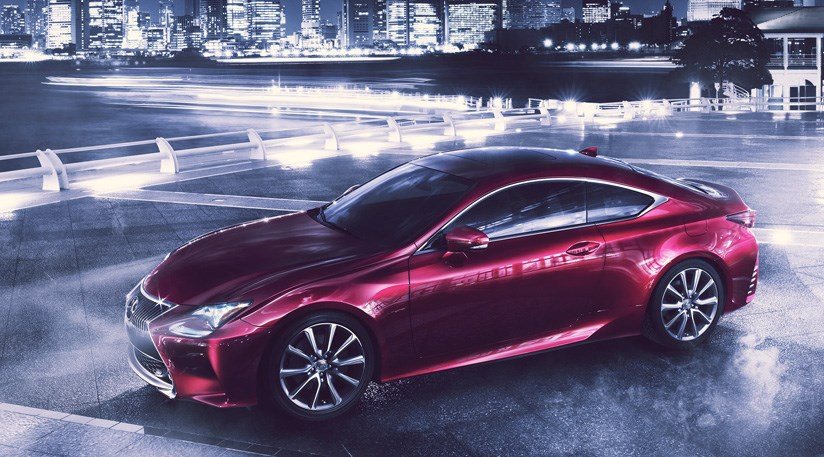 Lexus RC Coupe (2013) First Official Pictures +4