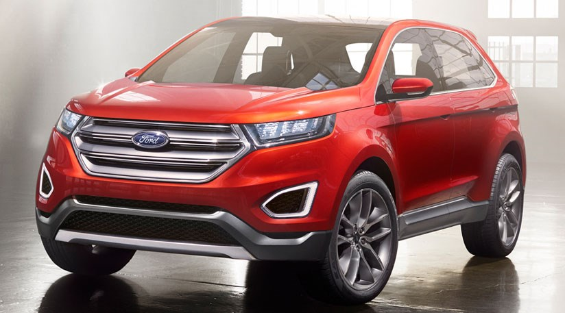 ford edge 2015 first official pictures by car magazine. Black Bedroom Furniture Sets. Home Design Ideas