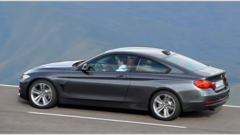 bmw 4 series 420d 2013 review by car magazine. Black Bedroom Furniture Sets. Home Design Ideas