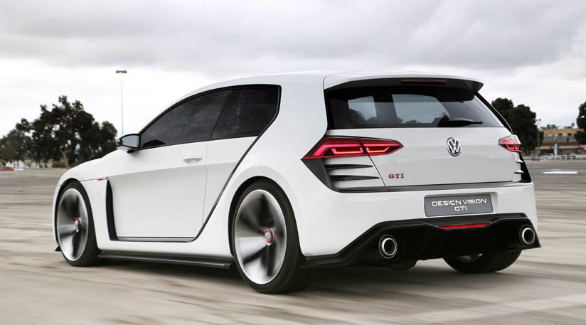 vw design vision golf gti 2013 car review by car magazine. Black Bedroom Furniture Sets. Home Design Ideas